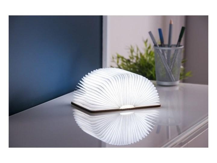 Jasnobrązowa lampka stołowa LED z drewna klonowego w kształcie księgi Gingko Booklight Lampa LED Kategoria Lampy stołowe