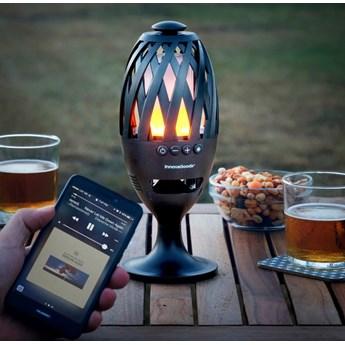 Lampa LED z głośnikiem Bluetooth InnovaGoods