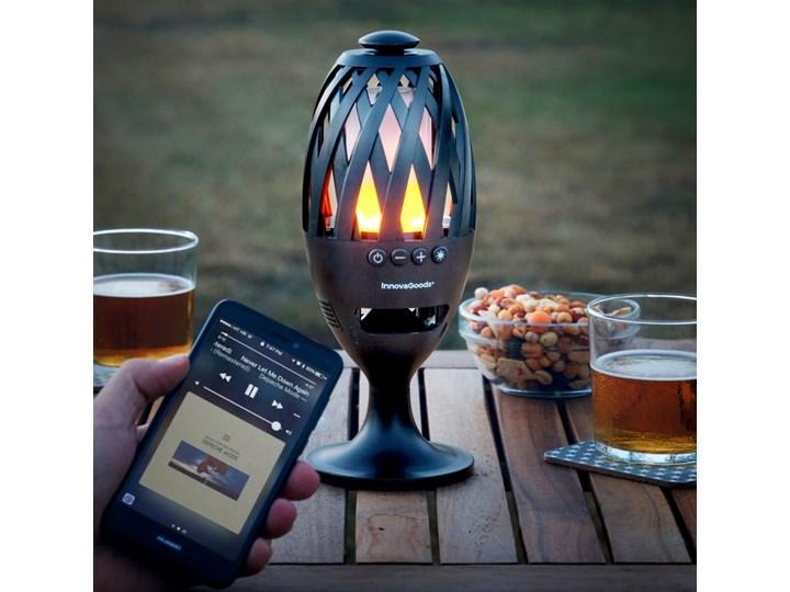Lampa LED z głośnikiem Bluetooth InnovaGoods Kolor Lampa stojąca Kategoria Lampy ogrodowe