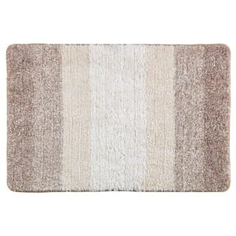 Beżowy dywanik łazienkowy Wenko Luso, 60x90 cm