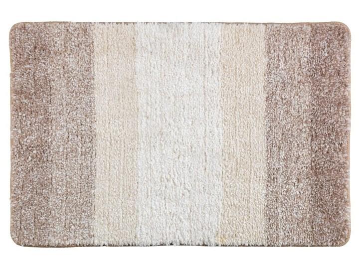 Beżowy dywanik łazienkowy Wenko Luso, 60x90 cm Prostokątny Kategoria Dywaniki łazienkowe