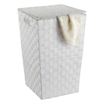 Biały kosz na pranie Wenko Adria