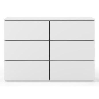 Biała komoda z szufladami TemaHome Join, 120x84 cm