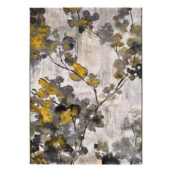 Żółto-szary dywan Universal Bukit Mustard, 80x150 cm