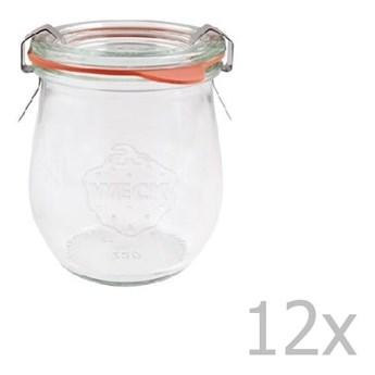 Zestaw 12 słoików Weck Tulpe, 220 ml