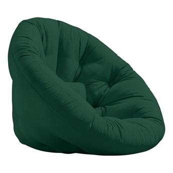 Fotel rozkładany Karup Design Nest Forest Green