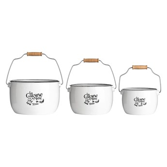 Zestaw 3 pojemników do przechowywania Premier Housewares La Cuisine De Mere