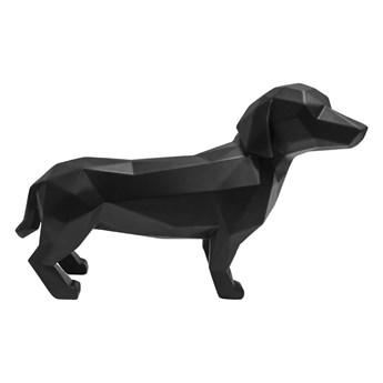 Czarna figurka PT LIVING Origami Dog