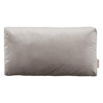 Szarobrązowa poszewka na poduszkę z efektem aksamitu Blomus, 50x30cm