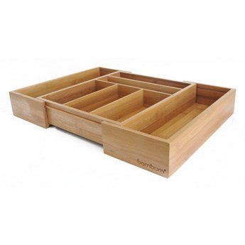 Bambusowy wkład do szuflady na sztućce Bambum Casadias