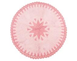 Różowy dywan dziecięcy Nattiot Warren, Ø110 cm