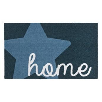 Niebieska wycieraczka Zala Living Design Star Home Blue, 50x70 cm
