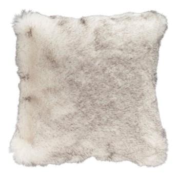Brązowa poduszka ze sztucznej skóry Mint Rugs Soft, 43x43 cm