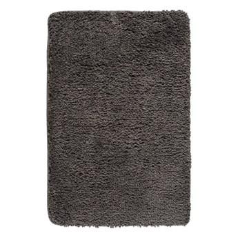 Ciemnoszary dywanik łazienkowy Wenko Belize, 90x60 cm