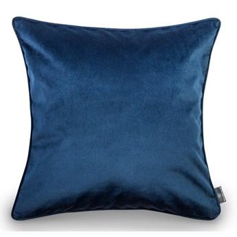 Niebieska poszewka na poduszkę WeLoveBeds Royal, 50x50 cm