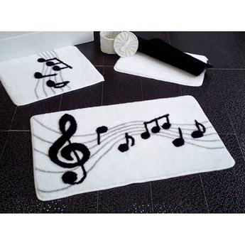 Zestaw 3 dywaników łazienkowych Alessia Music