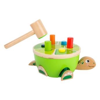 Dziecięca gra zręcznościowa Legler Turtle Hammering