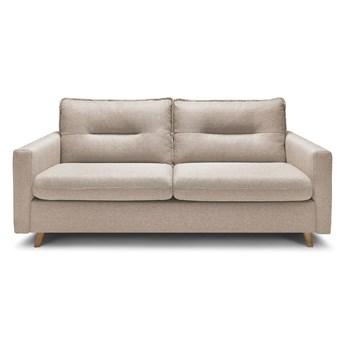Beżowa sofa rozkładana Bobochic Paris Sinki