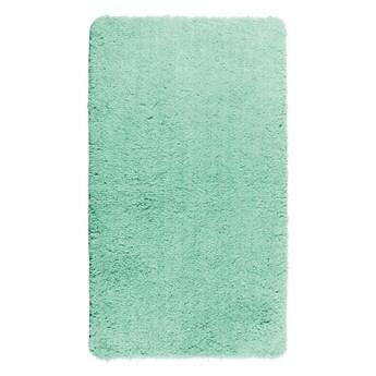 Turkusowy dywanik łazienkowy Wenko Belize, 90x60 cm
