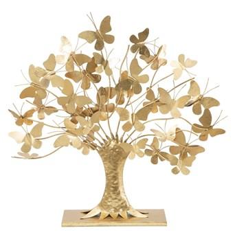 Dekoracja w złotym kolorze Mauro Ferretti Tree of Life, wysokość 60 cm