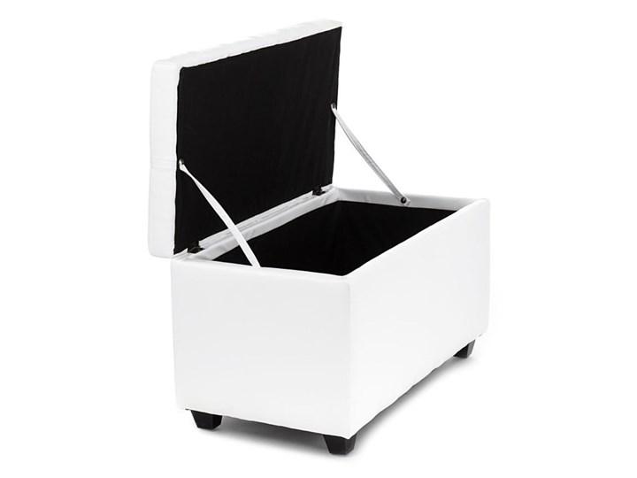 Biała ławka ze schowkiem Tomasucci Nice Skrzynia Pikowana Kategoria Ławki do salonu