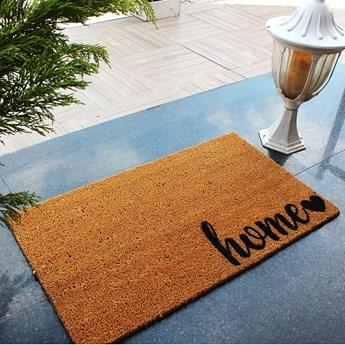 Wycieraczka z włókien kokosowych Sweet Home, 70x40 cm