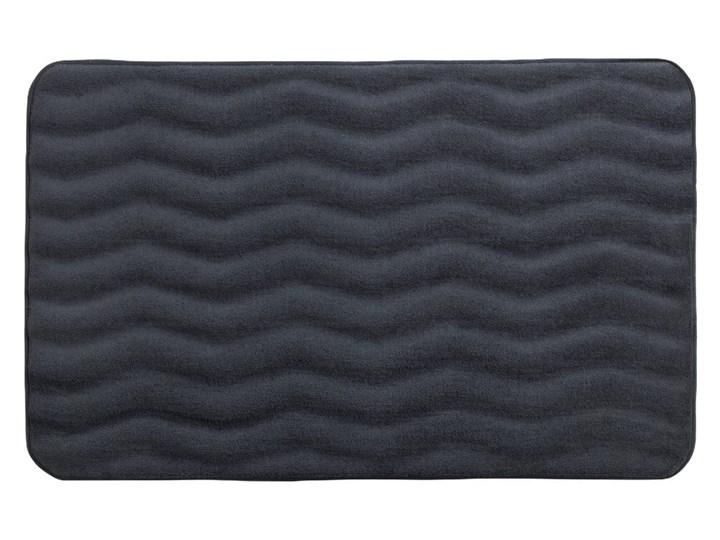Antracytowy dywanik łazienkowy z pianką z pamięcią kształtu Wenko Anthracite, 80x50 cm 50x80 cm Prostokątny Kolor Szary Kategoria Dywaniki łazienkowe