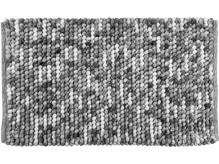 Szary dywanik łazienkowy Wenko Smooth Grey, 90x60 cm 60x90 cm Prostokątny Kategoria Dywaniki łazienkowe