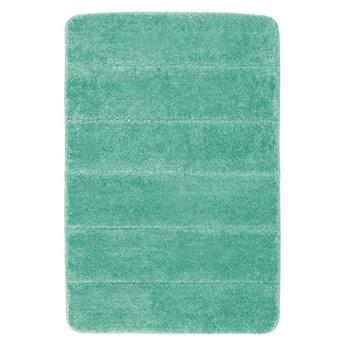 Turkusowy dywanik łazienkowy Wenko Steps, 60x90 cm