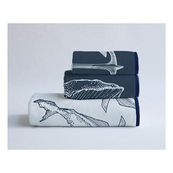 Komplet 3 ręczników z bawełny i mikrowłókna Surdic Nautical