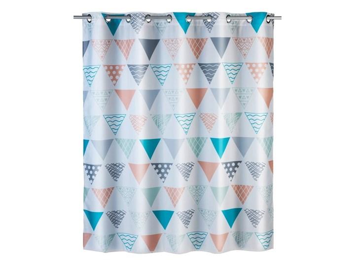 Kolorowa zasłona prysznicowa Wenko Ethno, 180x200 cm