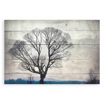 Dekoracyjna tabliczka z drewna sosnowego Really Nice Things Tree, 40x60 cm