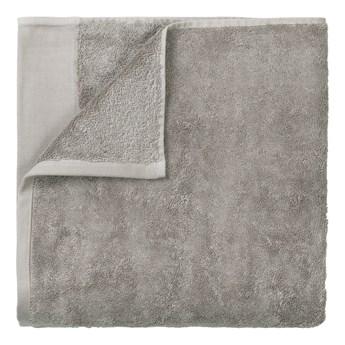 Szary bawełniany ręcznik Blomus, 50x100cm