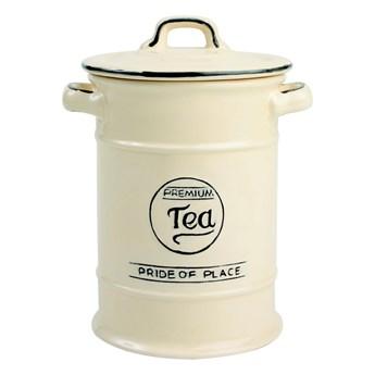 Kremowy pojemnik ceramiczny na herbatę T&G Woodware Pride Of Place