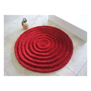 Dywanik łazienkowy Round Red, Ø 90 cm
