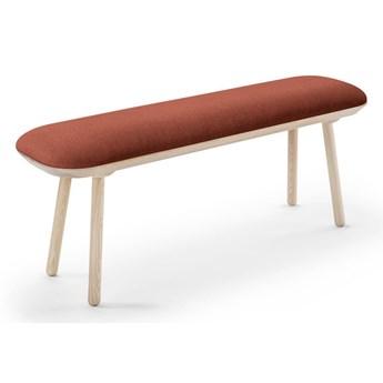Karmelowobrązowa ławka EMKO Naïve, 140 cm