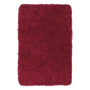 Czerwony dywanik łazienkowy Wenko Mélange, 90x60 cm