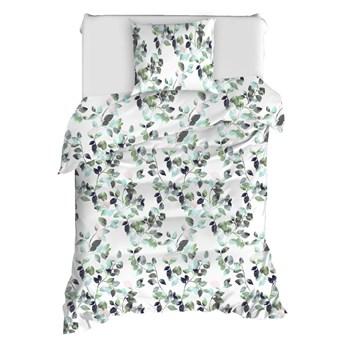 Pościel jednoosobowa z bawełny ranforce Mijolnir Sabine Green, 140x200 cm