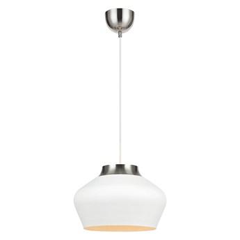 Biała lampa wisząca Markslöjd Kom