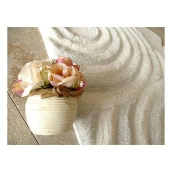 Zestaw 3 białych dywaników łazienkowych Alessia Sparkle