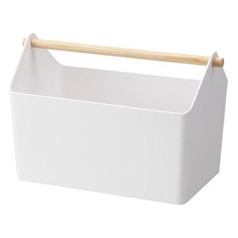 Biały pojemnik do przechowywania YAMAZAKI Storage