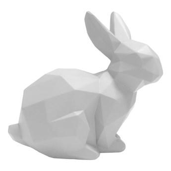 Biała dekoracja w kształcie króliczka PT LIVING Origami Bunny