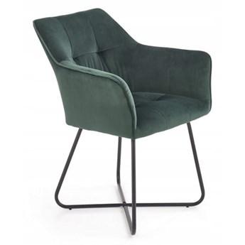 Krzesło K377 Zieleń Velvet Halmar