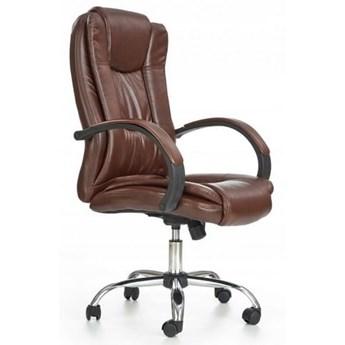 Fotel Obrotowy RELAX Brązowy Halmar