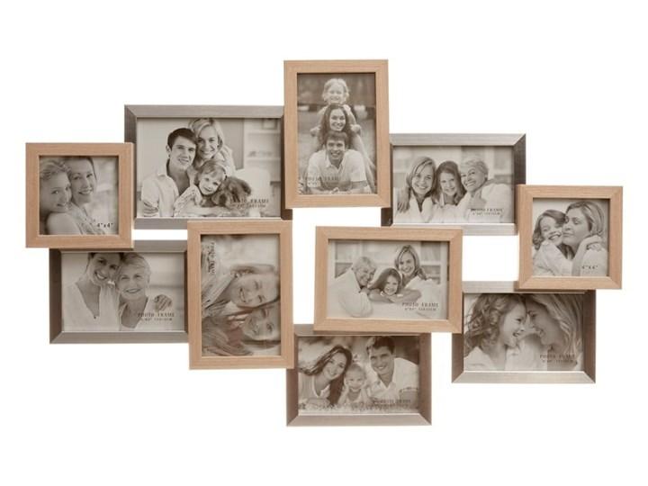 Ramka ścienna na 10 zdjęć Tomasucci Combi Multiramka Drewno Kolor Szary