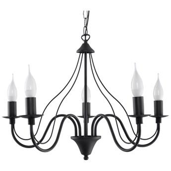 Czarny żyrandolo Nice Lamps Floriano 5