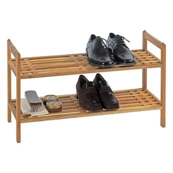 Regał na buty z drewna orzecha Wenko Norway, wys. 40,5 cm