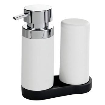 Zestaw 2 białych dozowników do płynu do naczyń Wenko Squeeze, 250ml