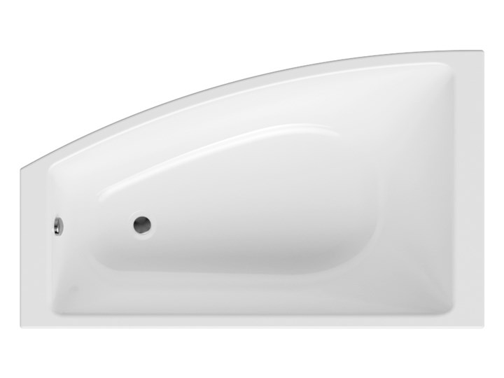 Wanna tradycyjna asymetryczna Tilo 150x90 Lewa Akryl Długość 150 cm Asymetryczne Narożna Kategoria Wanny