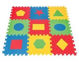 WOOPIE Piankowa Mata Edukacyjna Antybakteryjna Kształty Geometryczne